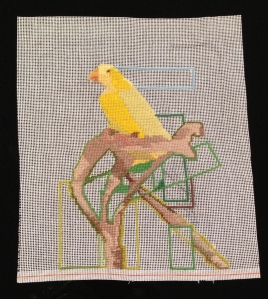 "02. yellow bird image size 8"" X 9"""