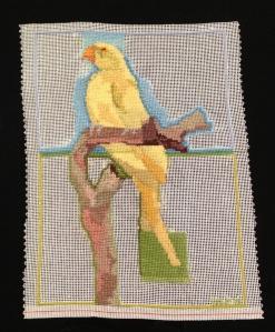 "01. yellow bird image size 7"" X 9"""