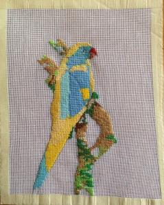 "05. yellow bird image size 9"" x 10"""